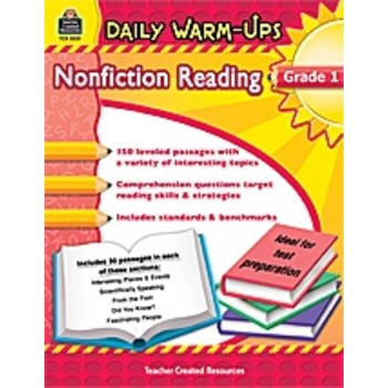 Daily Warm-Ups Non Fiction Reading