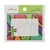 Renewing Minds, Stained Glass with Cross Labels, Self-Adhesive Labels, 3.5 x 2.5 Inches, Pack of 36