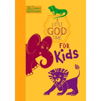 A Little God Time for Kids: 365 Daily Devotions, by BroadStreet, Imitation Leather