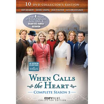 When Calls The Heart, Season 5, 10 DVD Set