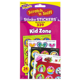 TREND enterprises, Inc., Kid Zone Scratch 'n Sniff Stinky Stickers® Variety Pack, 339 Stickers