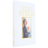 Regina Publishing, First Communion Bible for Boys, by Rev. Victor Hoagland, Padded Hardcover