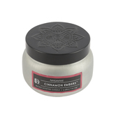 D&D, Cinnamon Embers Scented Candle in Tin, White, 3.98 ounces