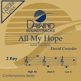 All My Hope, Accompaniment Track, As Made Popular by David Crowder, CD