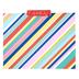 Colorfetti Collection, File Folders, 3 Assorted Designs, Multi-Colored, 12 Count