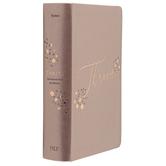 NLT Thrive Devotional Bible for Women, Imitation Leather, Rose