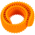 Mindware, Sensory Genius Orange Sensy Band, Textured Slap Bracelet, 1 Piece, Ages 5 and up