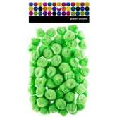 Tree House Studio, Pom Poms, 1 inch, Lime Green, 80 Count