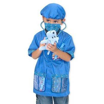 Melissa & Doug, Veterinarian Costume Set, Ages 3  to 6 Years Old, 10 Pieces