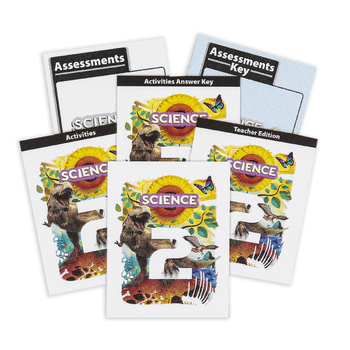 BJU Press, Science 2 Complete Subject Kit, 5th Edition, Grade 2