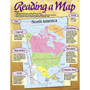 Reading a Map Chart