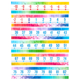 Retro Chic Collection, Number Line Bulletin Board Set, 25 Pieces