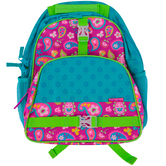 Stephen Joseph, Paisley All Over Print Backpack, 12 x 6 1/2 x 16 inches