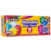 Cra-Z-Art, Washable Kids' Paints, Assorted Colors, 10 Count