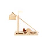 Pathfinders, Leonardo da Vinci Trebuchet Kit, 24  x 13 x 4.5 Inches, 63 Pieces, Ages 8 and up