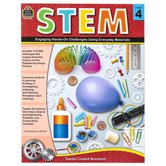 Teacher Created Resources, STEM Workbook, Paperback, 112 Pages, Grade 4