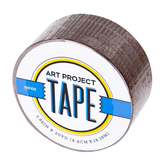 Dark Brown Art Project Tape, 1 7/8 inches x 20 yards, 1 Roll