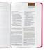 ESV Student Study Bible, Imitation Leather, Berry