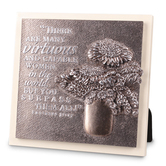 LCP Gifts, Proverbs 31:29 Virtuous Woman Table Plaque, 5 3/4 x 5 3/4 inches