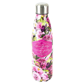 Brother Sister Design Studio, Psalm 139:14 Pink Floral Water Bottle, 10.38 x 2.50, 17.25 Ounces