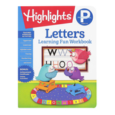 Highlights, Preschool Letters Learning Fun Workbook, Paperback, 48 Pages, Grade PreK