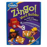 ThinkFun, Zingo Word Builder, Ages 5 and Older, 2 to 6 Players