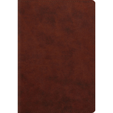 ESV Student Study Bible, Duo-Tone, Chestnut