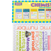 McDonald Publishing, Chemistry Chatter Charts, 11 x 17 Inches, Pack of 8, Grades 7-12