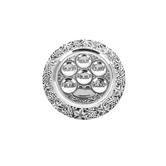 Holy Land Gifts, Passover Plate, 13 1/2 inches, Silver