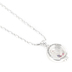 Modern Grace, Psalm 91:11 Ring Shaped Story Locket Necklace, Silver, 20 Inches