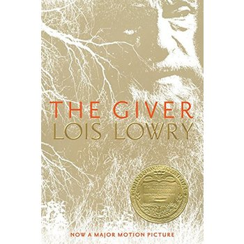 The Giver, by Lois Lowry, Paperback, Grades 5 and up