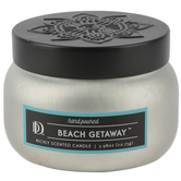 Winfield Home Decor, Beach Getaway Scented Candle, Tin, White, 4 Ounces