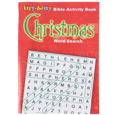 itty-bitty Bible Activity Book, Christmas Word Search, by Warner Press, Paperback