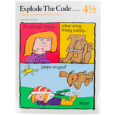Educators Publishing Service, Explode the Code Book 4-1/2, 2nd Edition, Grades 1-3