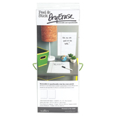 Wallies®, Peel and Stick Ruled White Dry Erase Sheets with Pen, 9 x 12 Inches, 2 Sheets