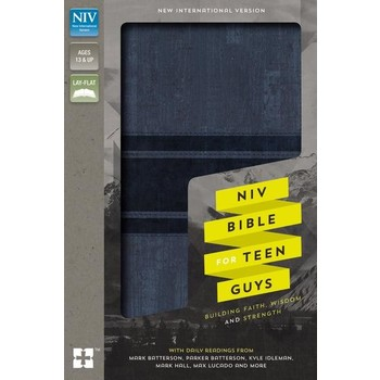 NIV Bible For Teen Guys, Imitation Leather, Multiple Colors Available