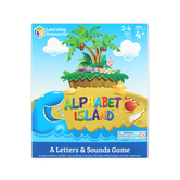 Learning Resources, Alphabet Island, A Letter and Sounds Game, Ages 4 Years and Older, 2 to 4 Players