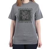 NOTW, Not Of This World Leopard, Women's Short Sleeve T-Shirt, Graphite Heather, S-2XL