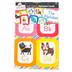 Schoolgirl Style, Just Teach Alphabet Cards Bulletin Board Set, 27 Pieces, Grades PK-2