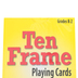 Learning Advantage, Ten Frame Playing Cards, 46 Pieces, Grades K-2