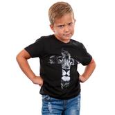 NOTW, Lion Cross, Kid's Short Sleeve T-shirt, Black, Small
