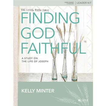 Finding God Faithful Leader Kit, by Kelly Minter, Kit