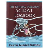 The Official Sassafras SCIDAT Logbook Earth Science Edition, Paperback, Grades K-5