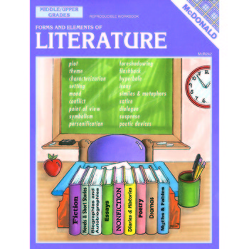 Forms & Elements of Literature Reproducible Book