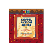 Gospel Action Songs: 17 Gospel-Style Songs for Kids, by Cedarmont Kids, CD