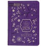 Mi Tiempo con Dios para Mujeres, by BroadStreet, Imitation Leather, Purple