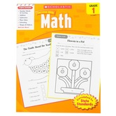 Scholastic, Success With Math Activity Book, 64-Pages, Paperback, Grade 1
