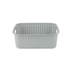 Sterilite, Short Weave Basket, Gray, 15 x 12.25 x 5.25 Inches, 1 Piece
