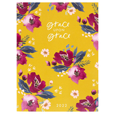 DaySpring, Studio 71 Grace Upon Grace 2022 Monthly Planner, 6 x 8 inches