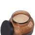 Darsee & David's, Madagascar Vanilla & Cedar Embossed Jar Candle, Gold, 18 Ounces